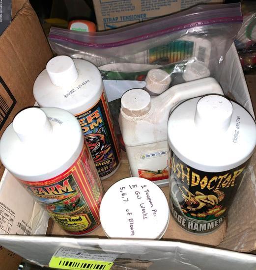 PH, Nitrogen, PHOS and PH Test and Fox farm Nutrients