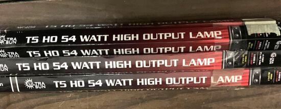 8 High Output 54 Watt Sun Lamps