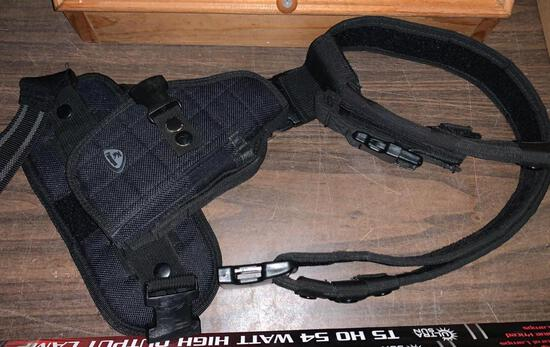Right Side Tactical Thigh Rig Holster Set up
