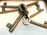 7 Vintage Skeleton Keys