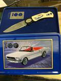 1964 1/2 Mustang Knife in Tin