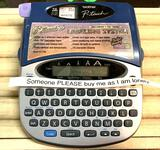Brother P- Touch Electronic Labeling System- Works