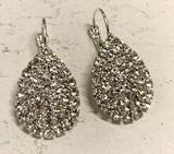 Crystal Rhinestone Hook dangle Earrings