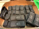 10 Canvas Pistol Pouches 9mm