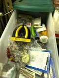 Assorted Beads and Jewelry Making Supplies