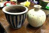 Ceramic Pot and Ceramic Vase