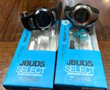 2 New Pairs of JBUDs Ear Buds and 2 Watches
