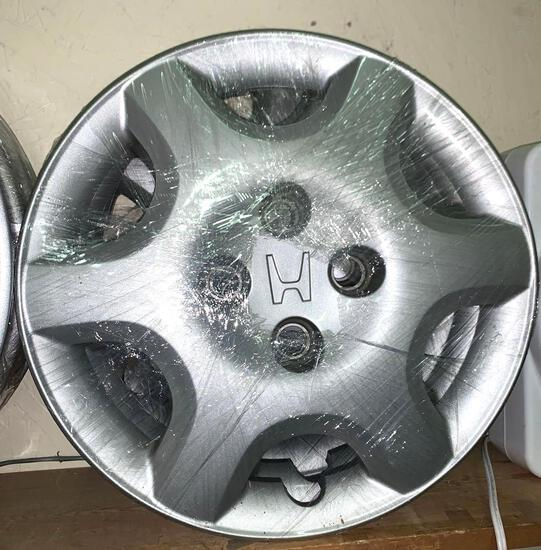 Set of 4 Honda Hubcaps 14""
