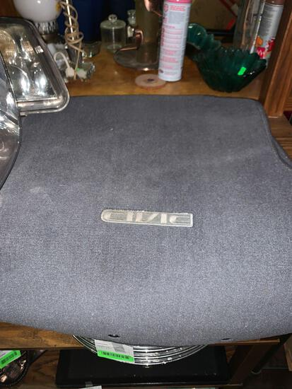 Honda Civic Front Drivers and Passenger Side Floor Mats