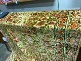 Vintage Floral Tapestry 66