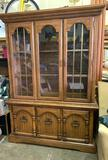 Lighted China Hutch 76