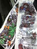 2 Sets of Temporary Tattoos (Full Sleeves)