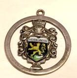 Large sterling Silver Heidelberg Pendant