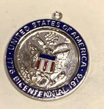 Sterling Silver USA Pendant