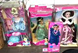4 New Disney Princess Dolls (Boxes have some Damage)
