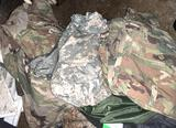 Lot of Asst. Military Clothing