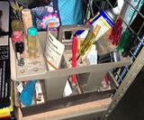 Tool Caddy with Tools and Supplies