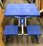 Portable Picnic Table with Seats