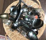 Basket full of Flatware