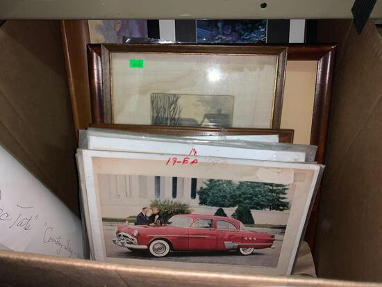 Lot of Various Print, Lithos and Framed Pictures