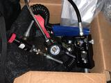 3 High Pressure Valve and Hose paintball Scruba fill station - 1 scruba Depth gauge and basket