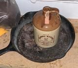 Cast Iron and Whiskey Jug