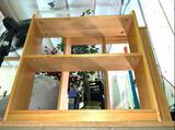 2 Shelf Bookcase H 26