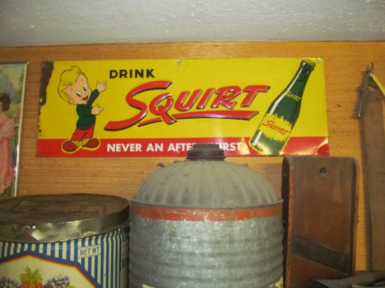 Drink Squirt w/boy & bottle