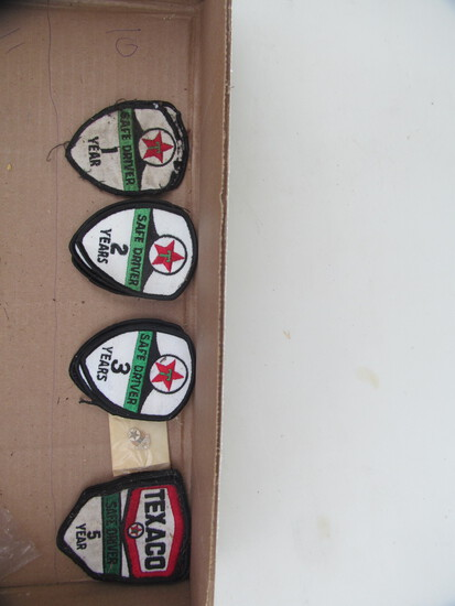 Texaco safe driver patches