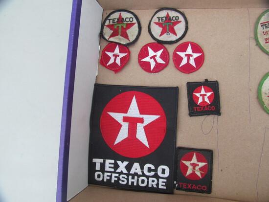 8 Texaco patches