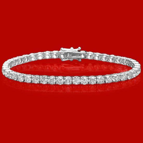 18k Gold 10.75ct Diamond Bracelet