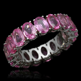 14K Gold 10.25ct Pink Sapphire Ring