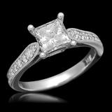 14K Gold 1.58ct Diamond Ring
