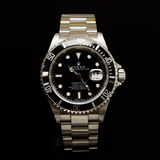 Rolex Stainless Steel Submariner 40mm D Serial Men's Wristwatch