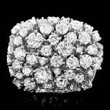 14k White Gold 2.50ct Diamond Ring