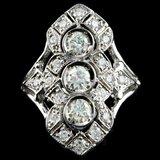 14k White Gold 1.50ct Diamond Ring