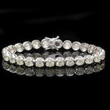 18k White Gold 14.50ct Diamond Bracelet