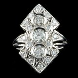 14k White Gold 1.70ct Diamond Ring