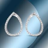 14K Gold 1.78cts Diamond Earrings