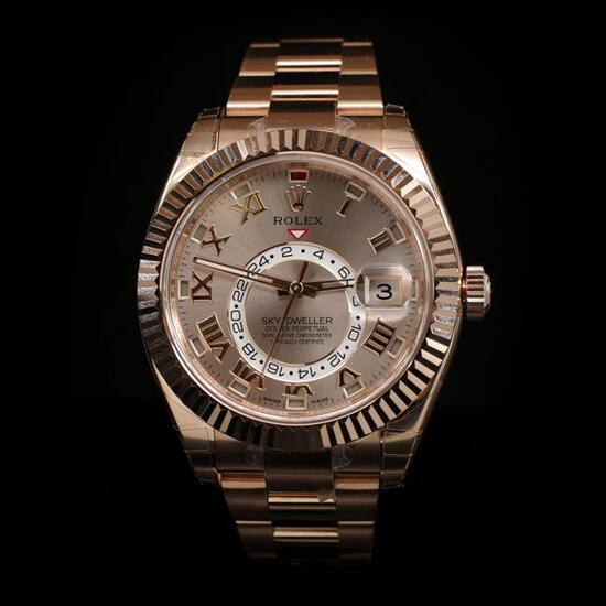 Rolex SkyDweller 42mm Mens Wristwatch