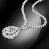 18K Gold 14.86cts Diamond Necklace