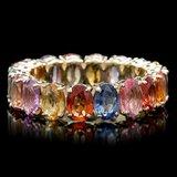 14k Yellow Gold 9.50ct Sapphire Ring