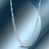 18K Gold 8.05cts Diamond Necklace