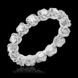 14K White Gold 1.14cts. Diamond Ring