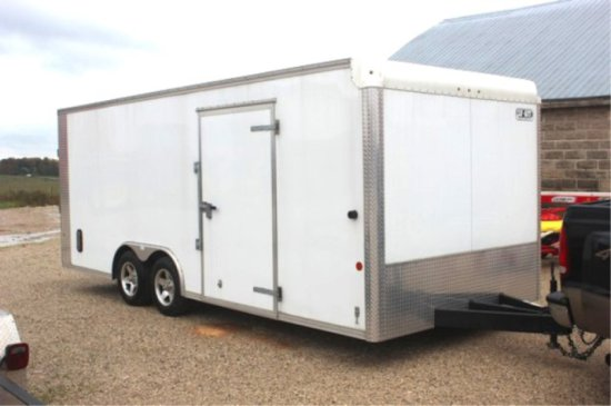 2011 Car Mate Enclosed Trailer