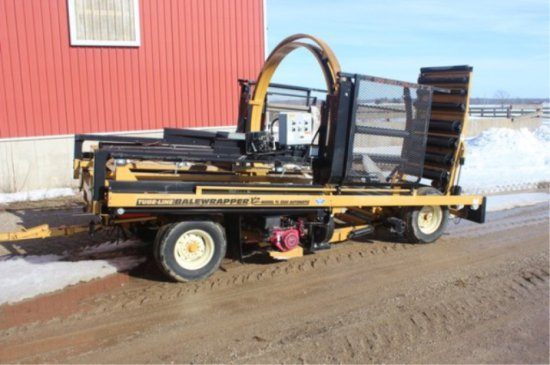 Tl5500 Tube-line Bale Wrapper
