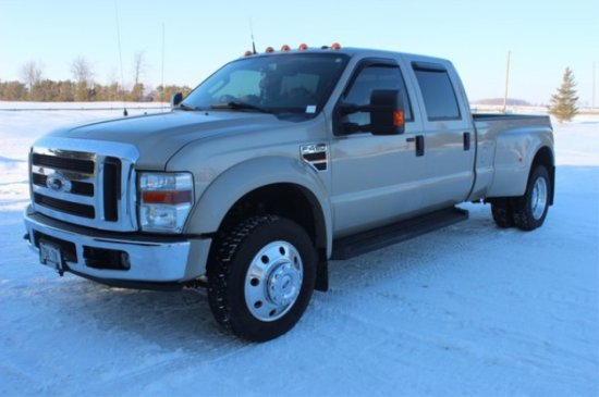 2008 Ford F-450 Lariat Power Stroke 2x4 Truck