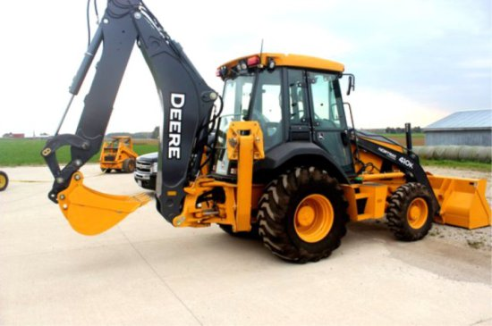 2014 John Deere 410k Backhoe Loader