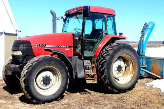 Case Mx120 Tractor