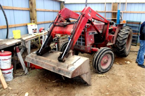 Case 484 Small Loader Tractor